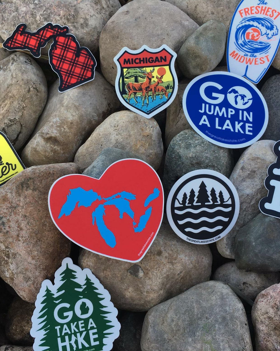 Michigan Sticker bundle of 10
