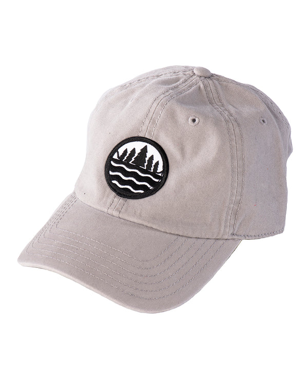 Garment washed canvas Great Lakes State Emblem cap