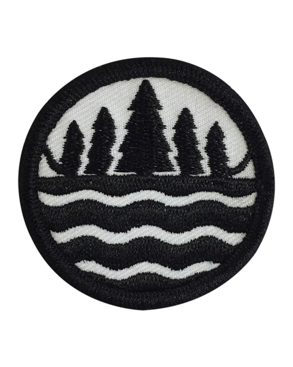 The Great Lakes State Logo Iron on Patch