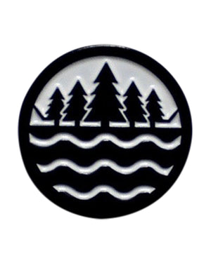 The Great Lakes State Logo Enamel Pin
