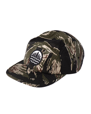 The Great Lakes State Tiger camo camper cap