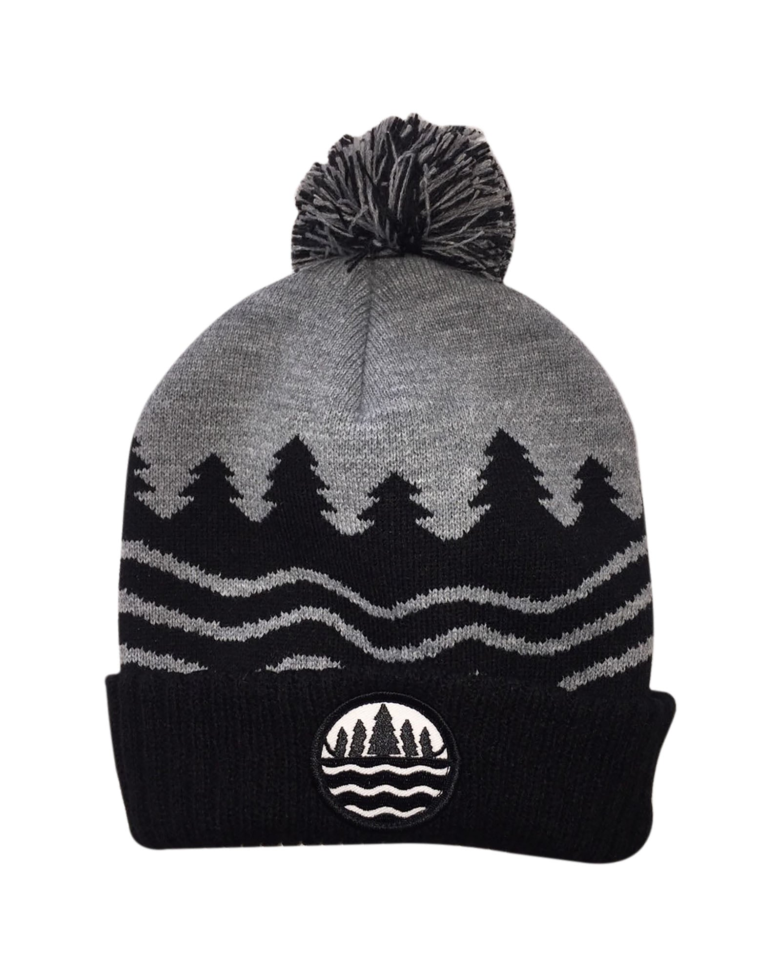 ee8aee3b728 The Great Lakes State Knitted Pom Beanie