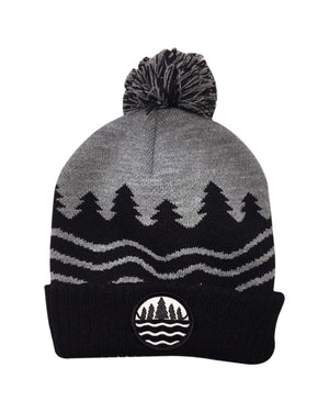 The Great Lakes State Knitted Pom Beanie
