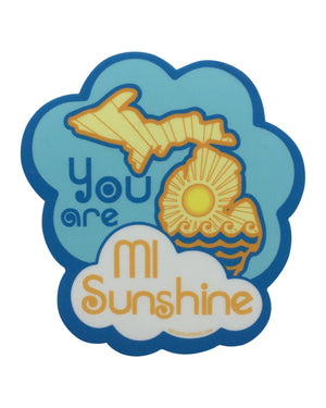 Michigan Sunshine Sticker