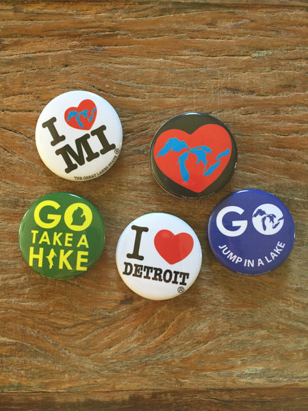 Buttons - The Great Lakes State