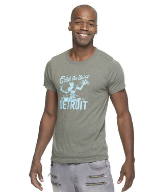 Catch The Spirit of Detroit Unisex T-Shirt