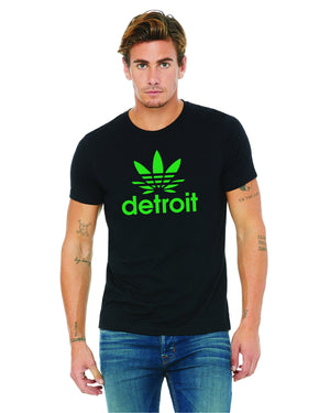 Detroit Cannabis - Unisex T-Shirt - Black