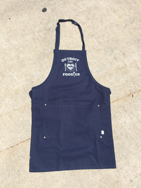 Detroit Is For Foodies Aprons - The Great Lakes State