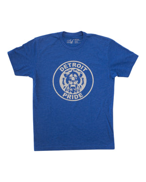 Detroit Pride - Unisex T-Shirt - Royal Blue