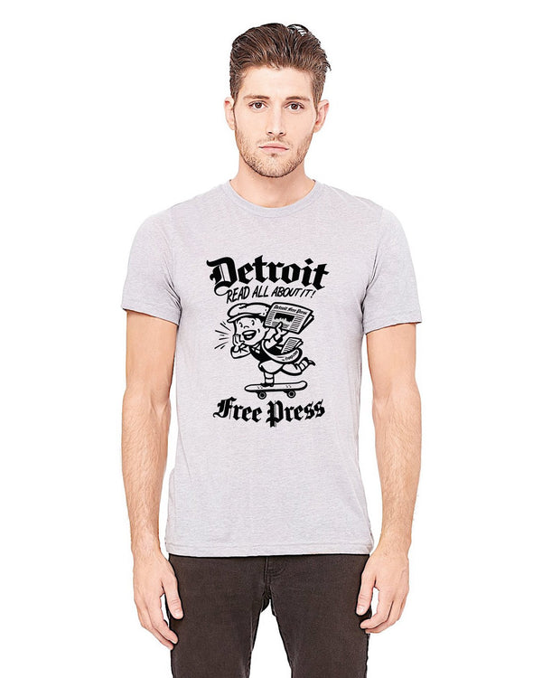 Detroit Read All About It Free Press T-Shirt