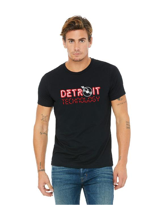 Detroit Technology Unisex T-Shirt - Black