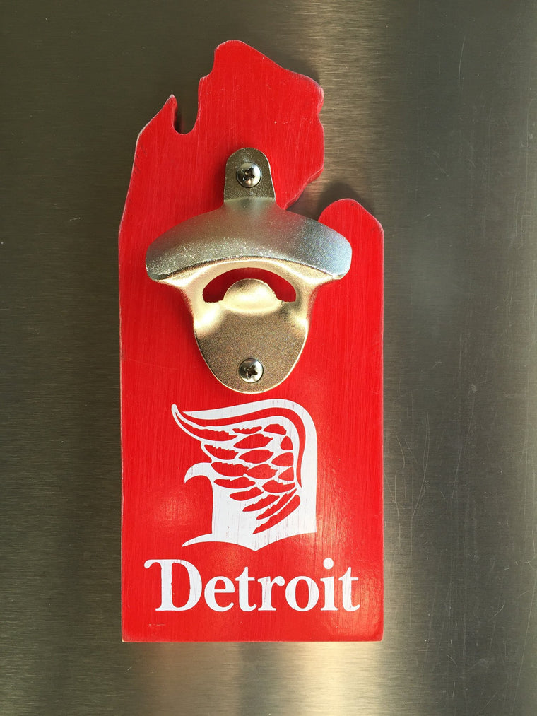 Detroit Wing Bottle Opener