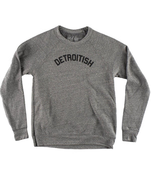 Detroitish Crewneck Sweatshirt - Heather Grey