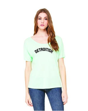 Detroitish Women's Slouchy T-Shirt