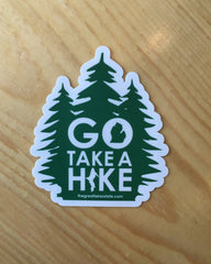 Go Take A Hike Sticker - The Great Lakes State