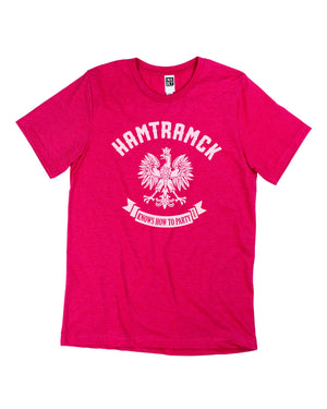 Hamtramck Unisex T-Shirt - Red