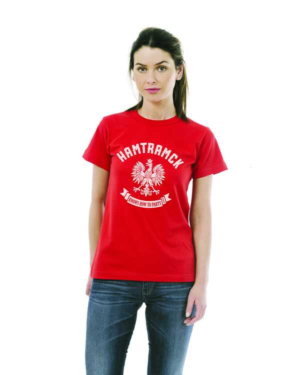 Hamtramck Women's T-Shirt - Red
