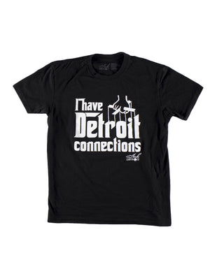 I Have Detroit Connections - Youth T-Shirt - Black