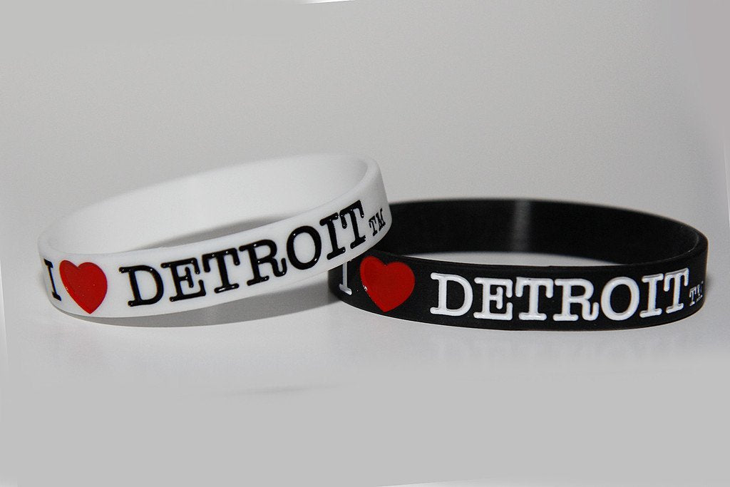 I Love Detroit Bracelet - The Great Lakes State