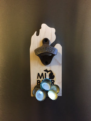 MI Beer Magnetic beer bottle opener