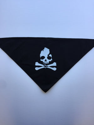 Michigan Skull & Bones- Dog Bandana