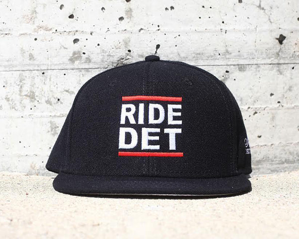 RIDE DET - Flat Bill Snap Back Hat - The Great Lakes State