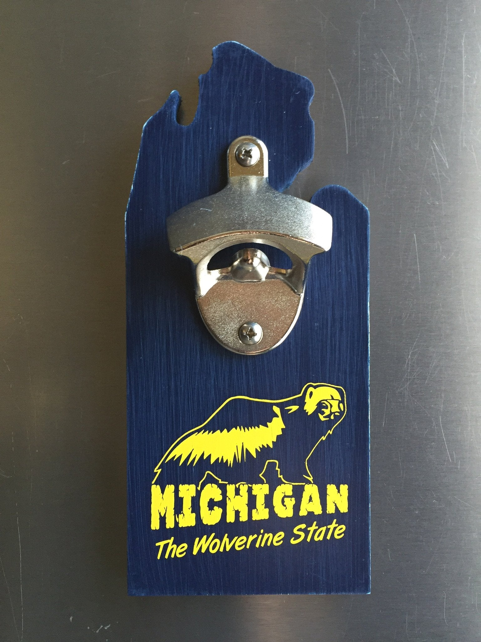 The Wolverine State Bottle Opener - The Great Lakes State