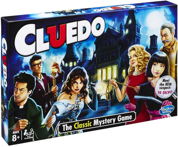 HASBRO - CLUEDO BOARD GAME - 8YRS UPWARDS