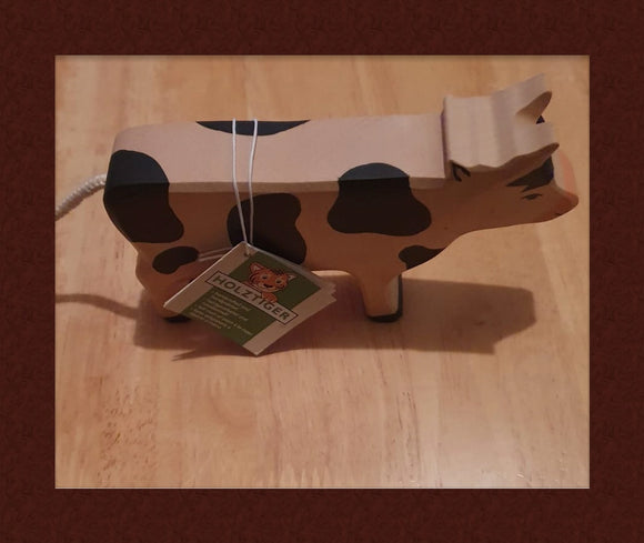 HOLZTIGER WOODEN COW (3YRS+)