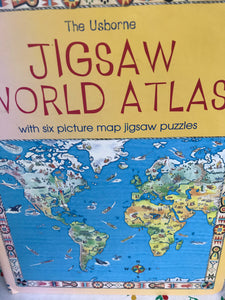 WORLD ATLAS PUZZLE BOOK