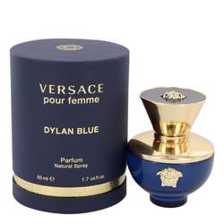 Versace Pour Femme Dylan Blue Perfume By  VERSACE  FOR WOMEN - 50 ml Eau De Parfum Spray