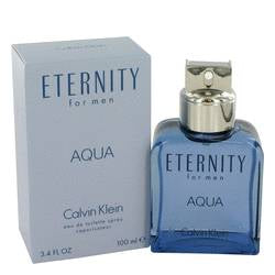 Eternity Aqua Cologne By  CALVIN KLEIN  FOR MEN - 100 ml Eau De Toilette Spray