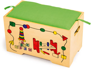 TOY BOX - TOY CHEST FOR CHILDREN
