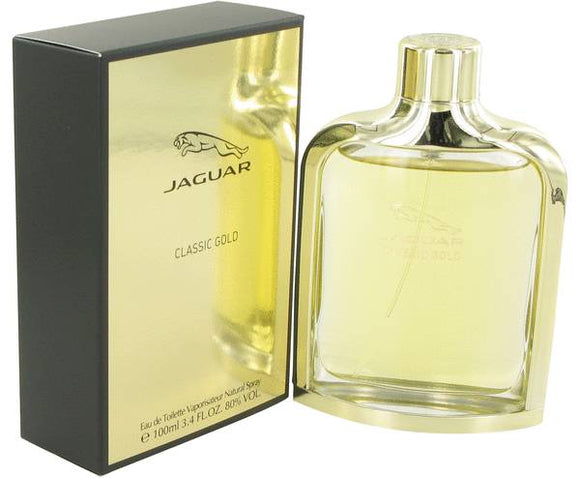 Jaguar Classic Gold Cologne By  JAGUAR  FOR MEN - 100 ml Eau De Toilette Spray