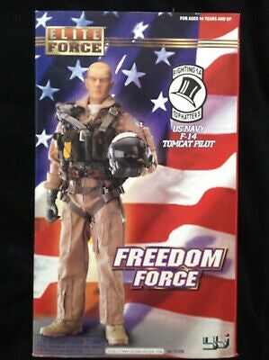 US NAVY F-14 TOMCAT PILOT COLLECTIBLE DOLL (MALE)