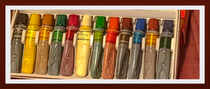 12 COLOURED OIL PAINTS(FREE P&P)