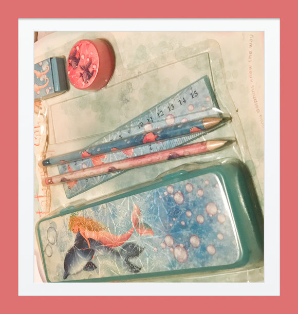 Missy Mermaid Stationery Set (3 YRS+)