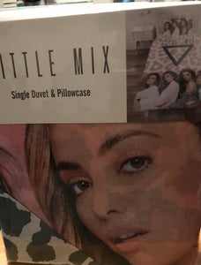 LITTLE MIX SINGLE DUVET COVER AND PILLOWCASE
