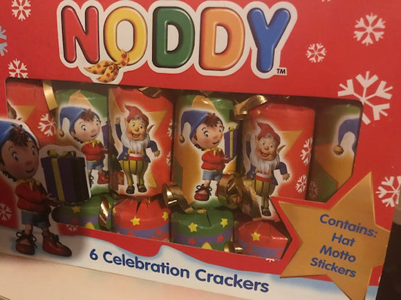 NODDY CELEBRATION CRACKERS (CHRISTMAS)