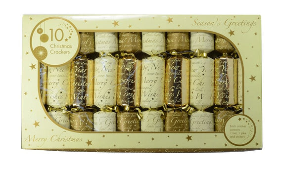 LUXURY CHRISTMAS CRACKERS FREE DELIVERY