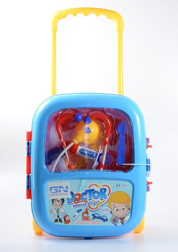 DOCTOR'S MEDICAL PLAYSET