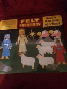 FELT CREATIONS - CHRISTMAS SET