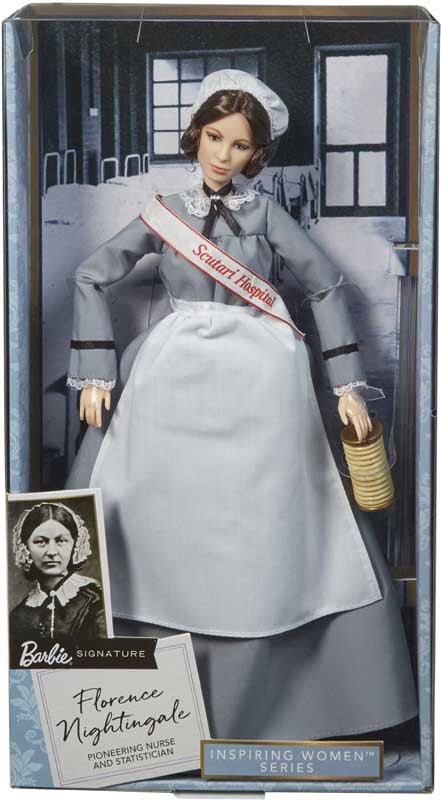 FLORENCE NIGHTINGALE BARBIE INSPIRING WOMEN DOLL