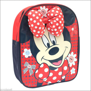 MINNIE MOUSE BACK TO SCHOOL BACKPACK WITH SHOULDER STRAPS - FREE DELIVERY