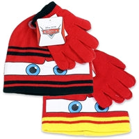 CARS - TODDLER HAT AND GLOVE SET