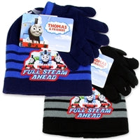 THOMAS BOYS TODDLER HAT AND GLOVES SET