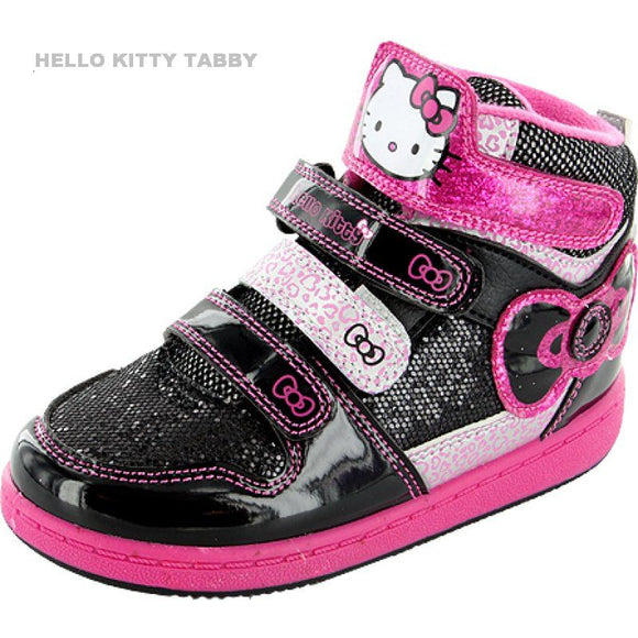 HELLO KITTY TABBY HI TOP TRAINERS 3YRS -5YRS
