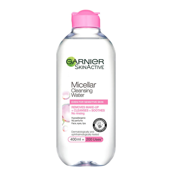 Garnier Micellar Cleansing Micellar Water Dry & Sensitive 400ml | LA Image