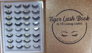 Tiger Lash Book 16 3D Luxury Lashes
