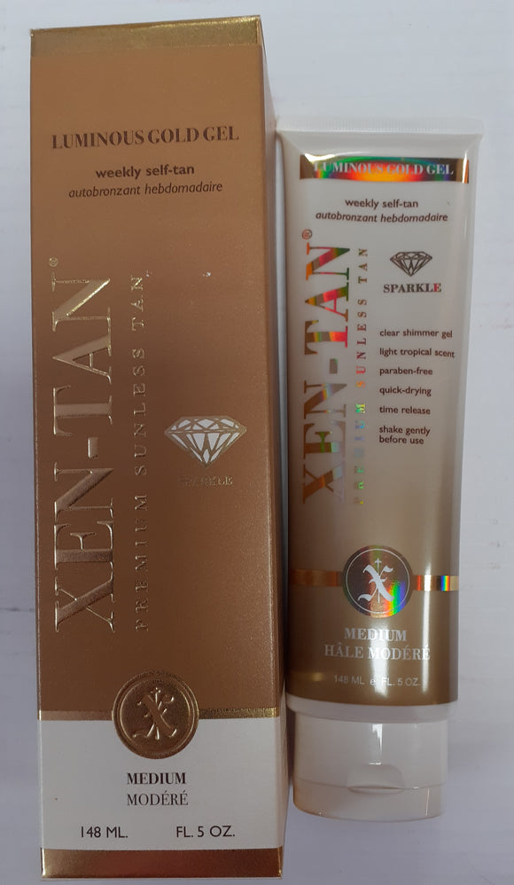 Xen-Tan Luminous Gold Gel Luxury Fake Tan 148ml | LA Image